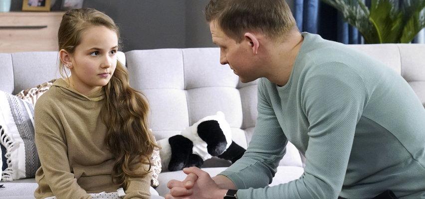 """""""Barwy szczęścia"""" odcinek 2473. Łukasz przeprowadzi trudną rozmowę z córką"""