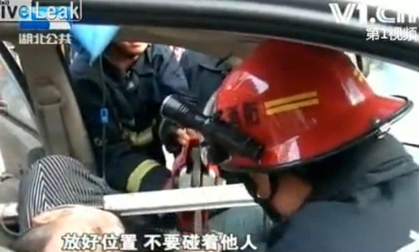 Wypadek w Chinach.