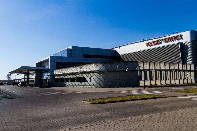 Remont doprowadził do awarii oświetlenia na lotnisku w Poznaniu