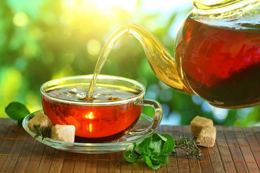 Klasyczna czarna herbata