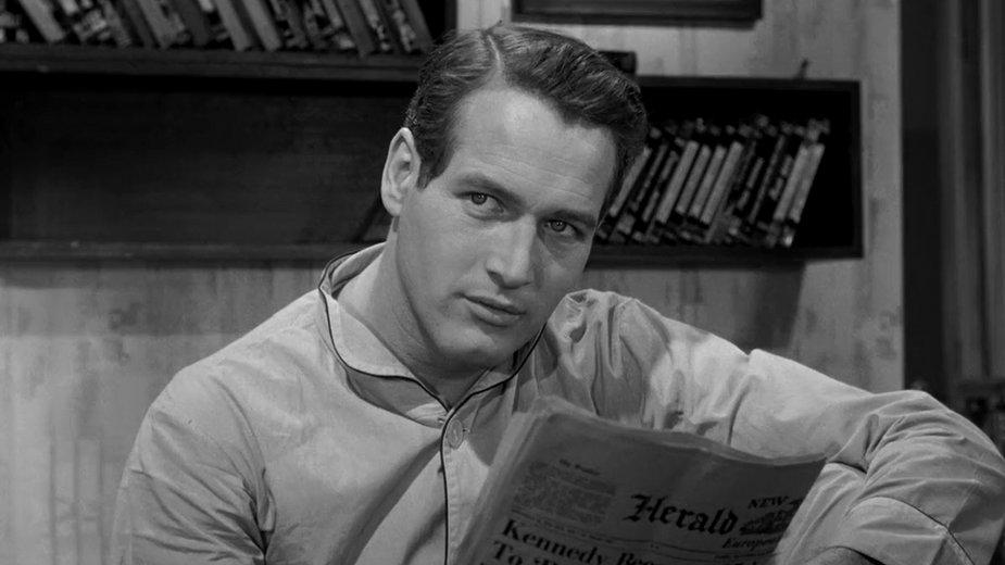 Paul Newman w filmie Paryski blues (1961)