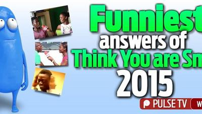"""Funniest answers of """"Think You're Smart"""" 2015"""