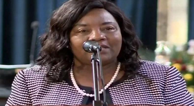 Mama Ida Odinga narrates how she convinced Dr Joyce Laboso to join politics in 3 hours during her tribute at the All Saints Cathedral memorial service