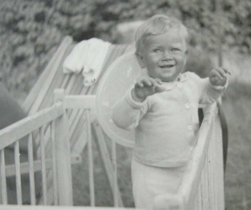 Dwuletni Maciek