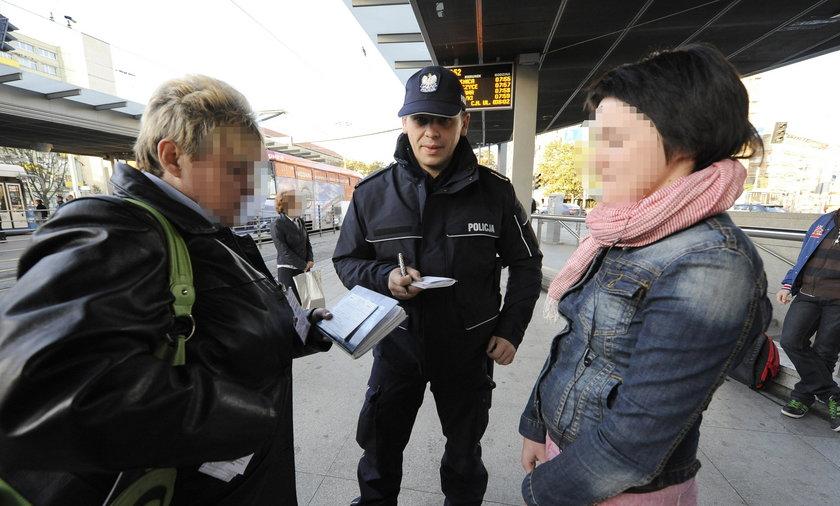 Kontrola biletów we Wrocławiu.