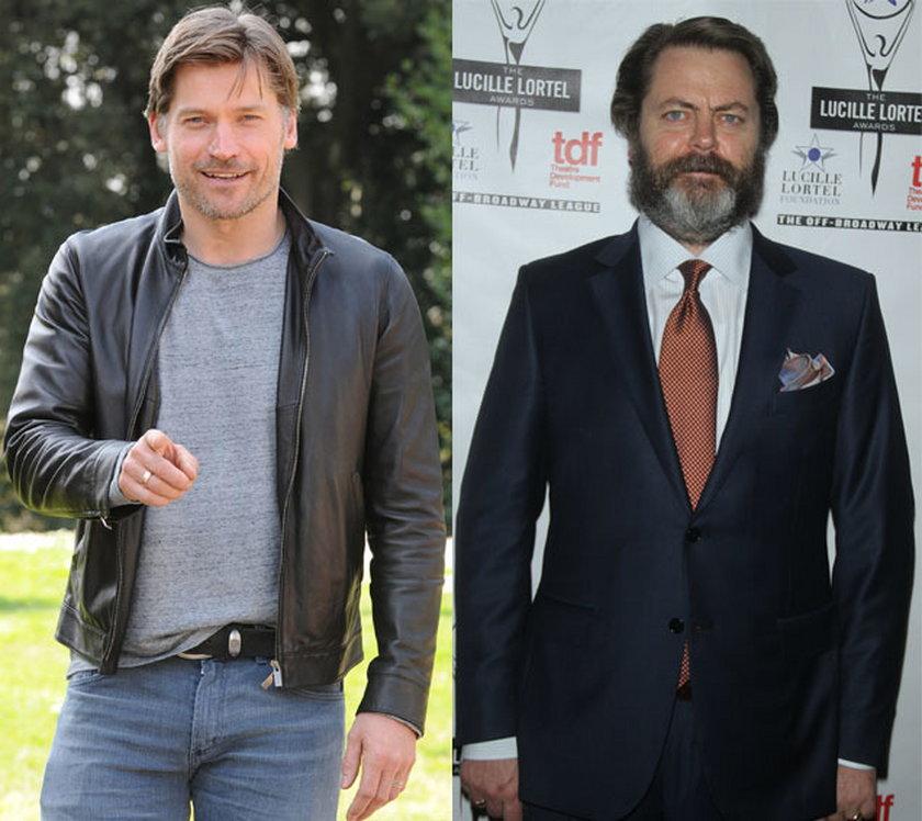 44 lata: Nikolaj Coster-Waldau i Nick Offerman