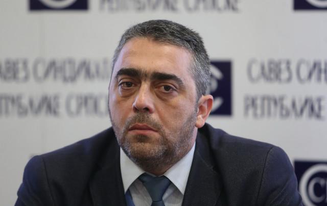 Božo Marić, predsednik sindikata uprave RS