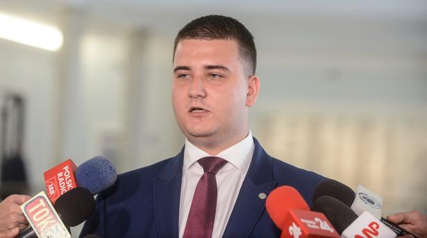Rzecznik prasowy MON Bartłomiej Misiewicz, (zuz) PAP/Jakub Kamiński