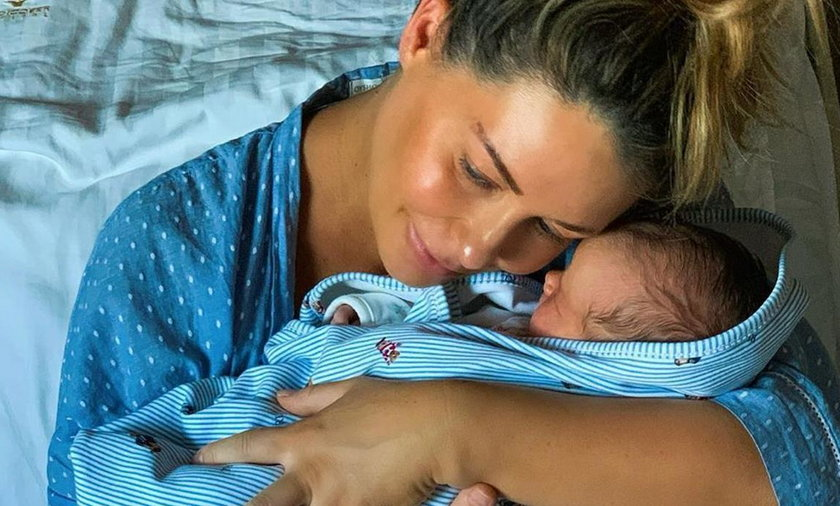 Małgorzata Rozenek-Majdan urodziła. Opublikowała zdjęcie z synem