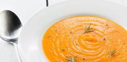 Pomarańczowa zupa dodająca energii!