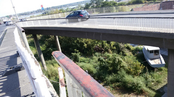 saobracajna nesreca pancevacki most