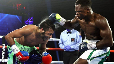 Isaac Dogboe knocks out American Christopher Avalos in comeback bout