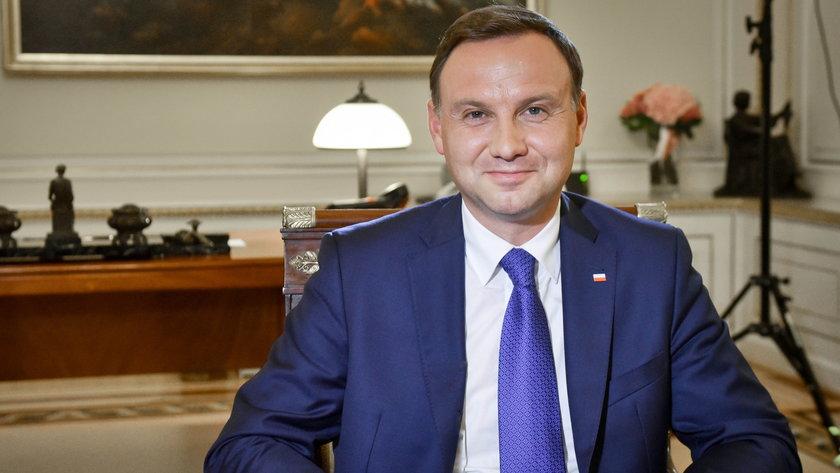 Duda odmówił Wojewódzkiemu