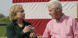 Pożar w rezydencji Clintonów