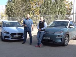 Auta bez ściemy - Hyundai Kona Electric kontra Hyundai i30N Performance