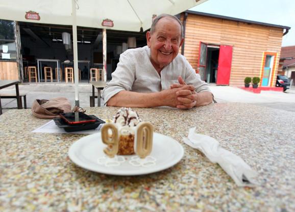 Vlasta Velisavljević slavi devedeset godina