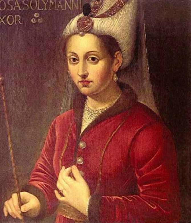 Hurem Haseki, portret iz 16. veka
