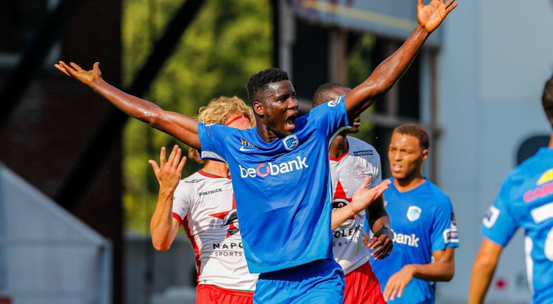 Nigerian striker Paul Onuachu makes Belgian league's Team of the Week after scoring for Genk