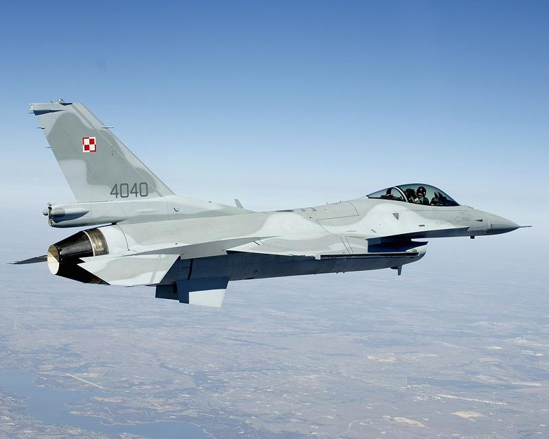 Poland F-16 First Flight 4