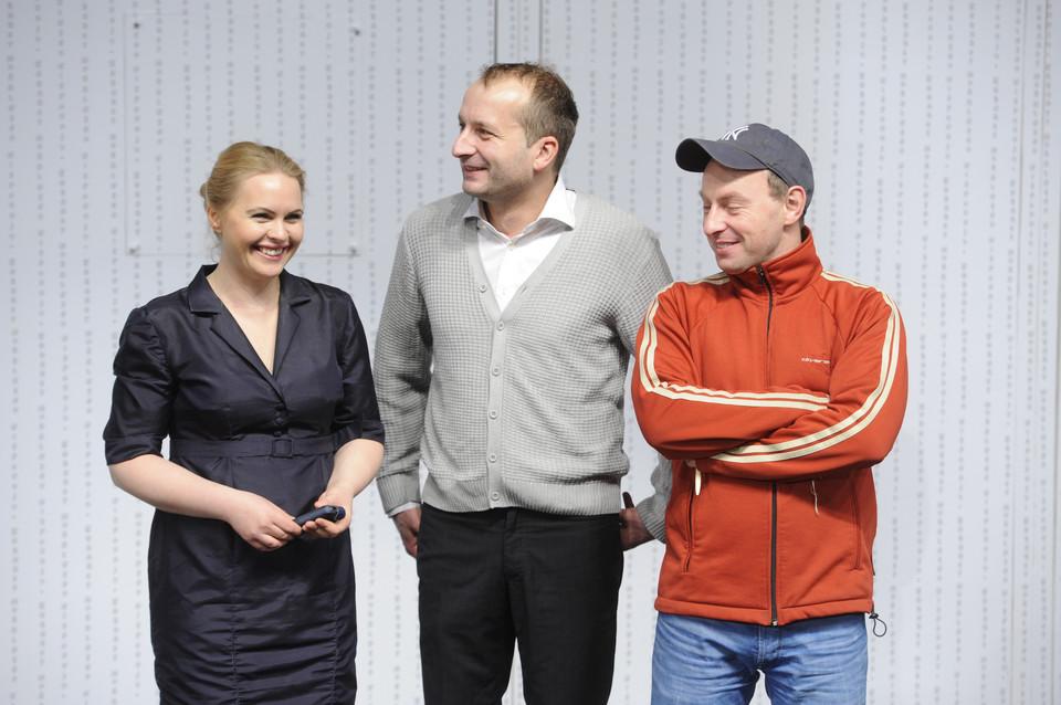 Katarzyna Zielińska w kapeluszu, coraz chudsza Joanna