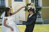 tuča venčanje mlada mladoženja