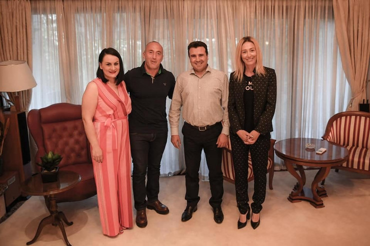 Ramuš Haradinaj Zoran Zaev