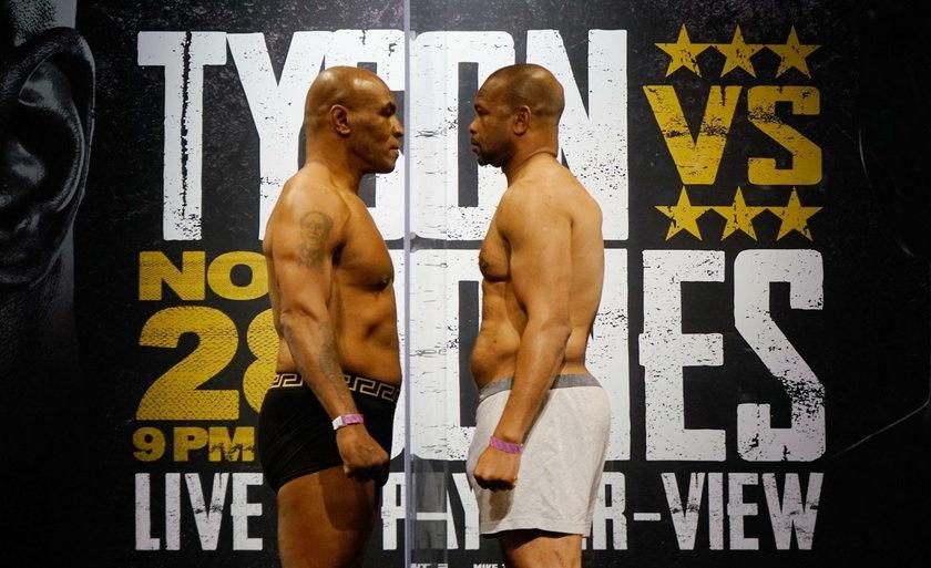 Mike Tyson kontra Roy Jones
