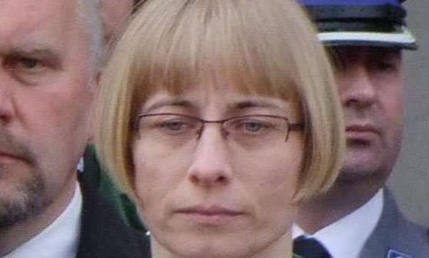 Wdowa po Gosiewskim nie chce tablicy