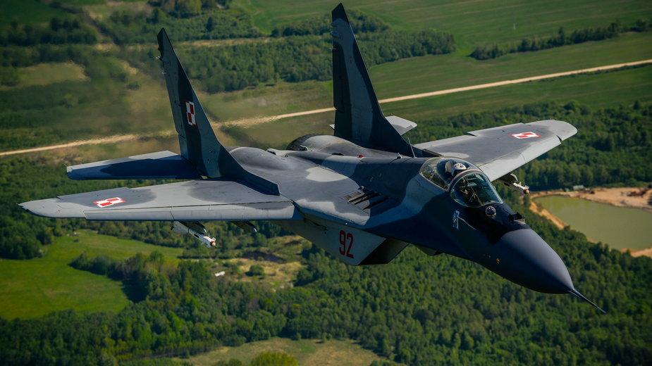 Polski myśliwiec MiG-29