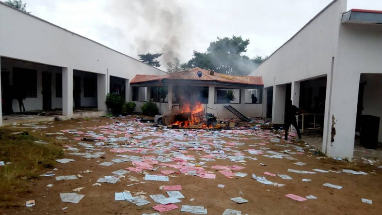 Students Set School Clinic On Fire In Osun Polytechnic