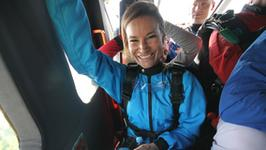 Karolina Pilarczyk skoczyła ze spadochronem. Mamy wideo