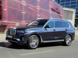 BMW X7 xDrive40i – SUV w amerykańskim stylu – TEST