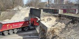 Rozebrali wiadukt do połowy
