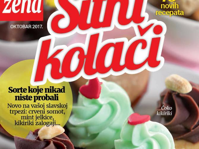 """U novoj """"Blic ženi"""" kuvar na poklon: Treća zbirka recepata za SITNE KOLAČE kakve dosad niste probali"""