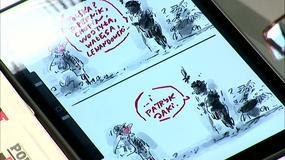 Satyryczne komiksy Henryka Sawki