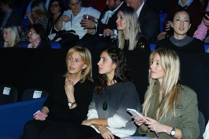 Marija sa majkom i sestrom budućeg supruga Rafaela Nadala