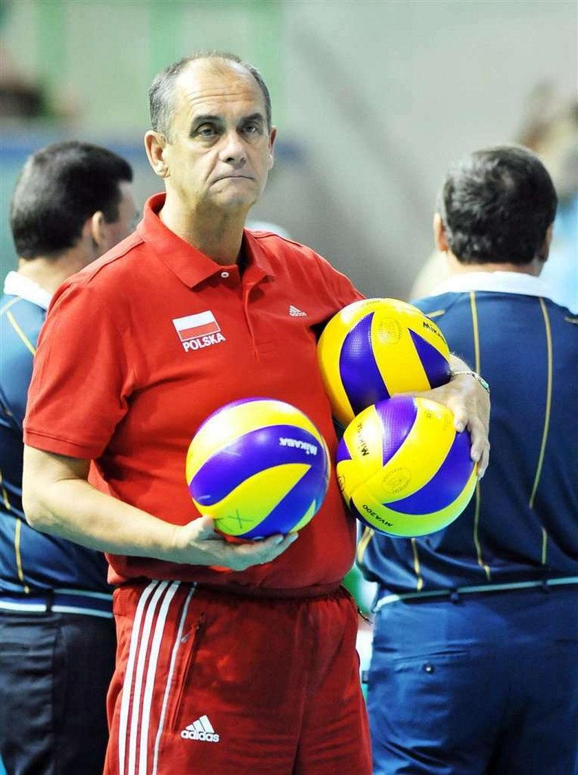 Jerzy Matlak szykuje zespół na igrzyska