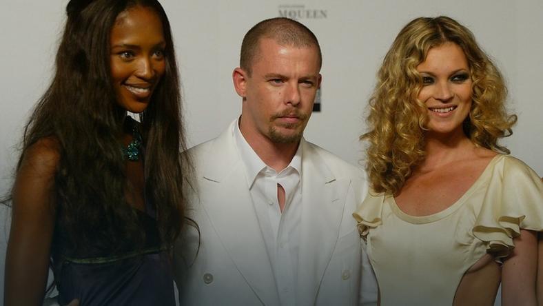 Naomi Campbell, Alexander McQueen i Kate Moss