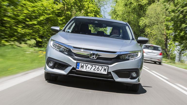 Honda Civic 1.5 VTEC Turbo - sedan z najlepszym CVT na rynku
