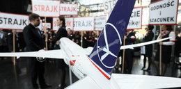 Protest w LOT. Firma zwalnia 67 osób