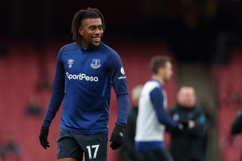 Alex Iwobi left Arsenal to join Everton without a pay rise  (James Williamson - AMA/Getty Images)