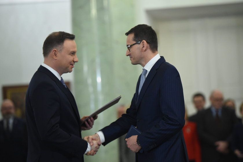 Nowy-stary rząd Mateusza Morawieckiego