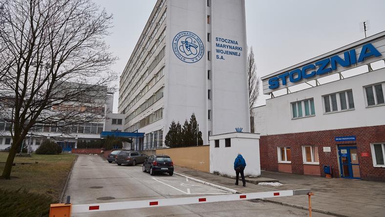 Budynek zarządu Stoczni Marynarki Wojennej w Gdyni