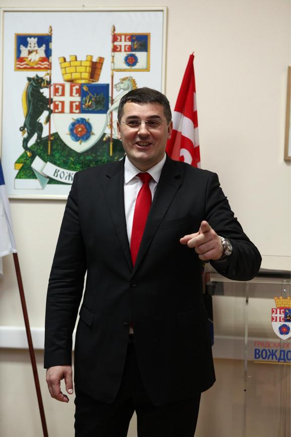 Aleksandar Savić, predsednik opštine Voždovac