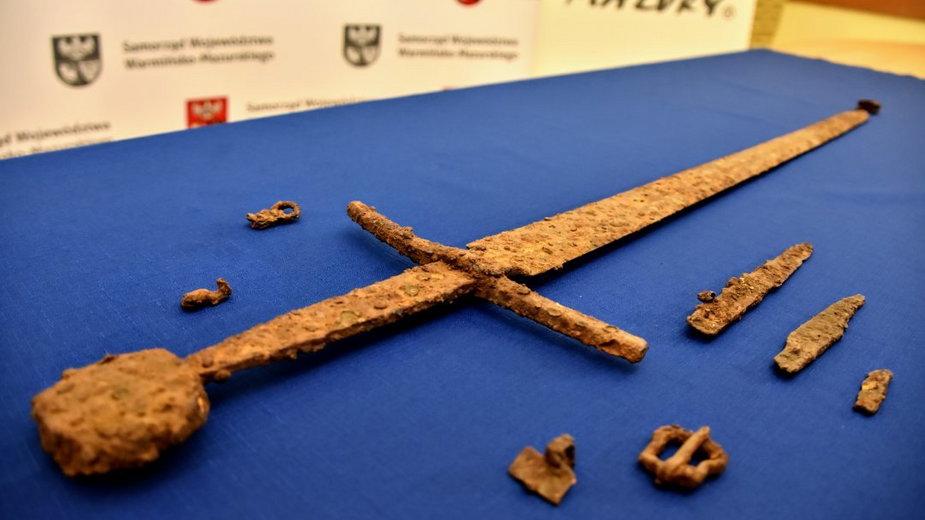 O wyjątkowym znalezisku poinformował Urząd Marszałkowski Województwa Warmińsko-Mazurskiego