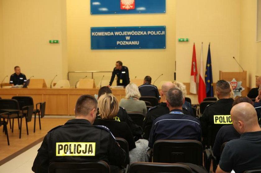 """Policjanci z KWP w Poznaniu wzięli udział w ćwiczeniach """"Obronność 15"""""""