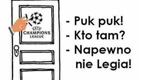 Legia Warszawa wygrała z FK Astana, ale nie zagra w Lidze Mistrzów - memy