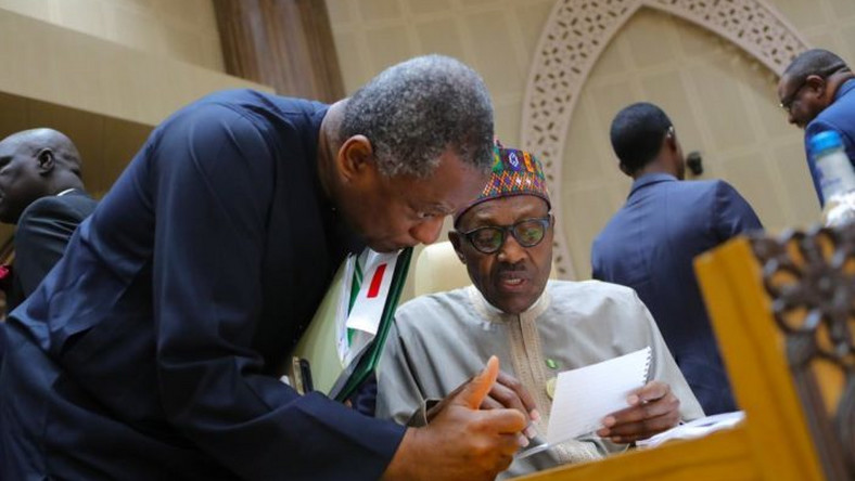 The Minister of Foreign Affairs, Geoffrey Onyeama (left), said the closure of the embassies is in line with President Muhammadu Buhari's agenda [Green Reporters]