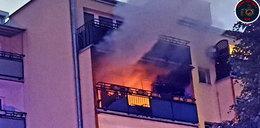 Tragiczny pożar w Pruszkowie. Nie żyje nastolatek