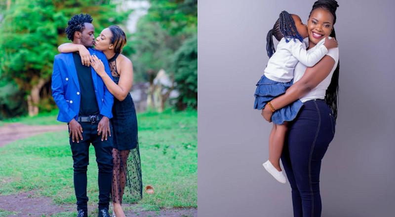 Baby Mama demands brand new car and house from Bahati (Video)